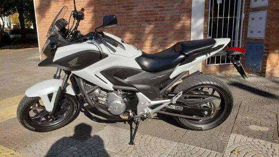Honda Nc700 X 2016 Blanco Dissano Automotores