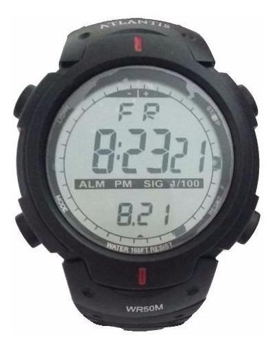 Relógio Masculino Digital Esportivo Original Atlantis