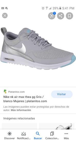 Zapatillas Nike Air Max Talle 35.5 Nuevas