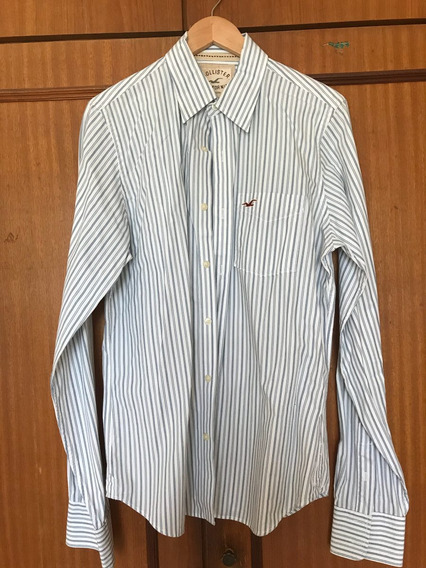 Camisa Social Masculina Hollister