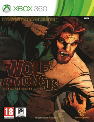 The Wolf Among Us - Xbox 360 Fisico Nuevo & Sellado