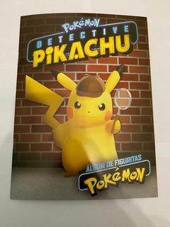 Album Pokemon Detective Pikachu 2019