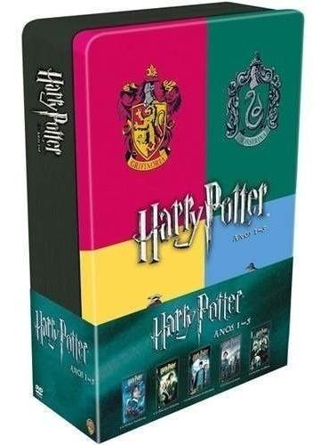 Dvd-harry Potter-ano 1-5- Novo, Original, Lacrado-