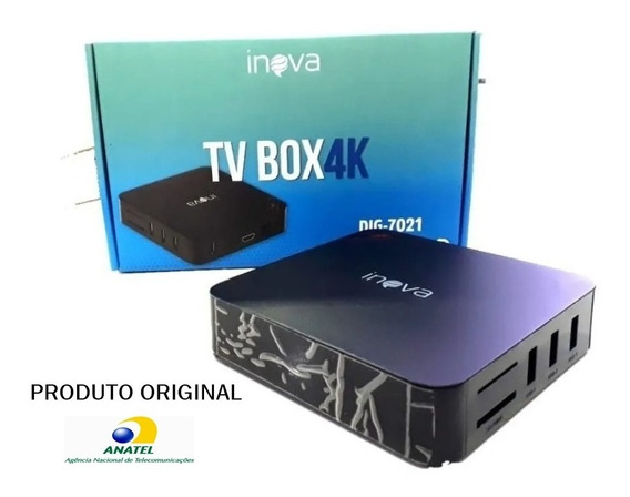Tv Box Smart Tv Digital Inova Dig-7021 Anatel 32gb 4ram