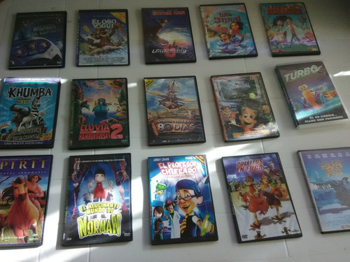 Películas En Dvd. Infantiles Varios Titulos