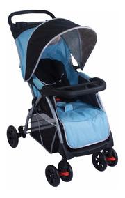 Carrinho De Bebê Smart Azul