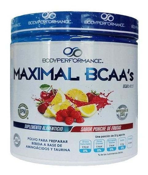 Bcaa Body Performance Maximal Ponche De Frutas (30 Srvs)