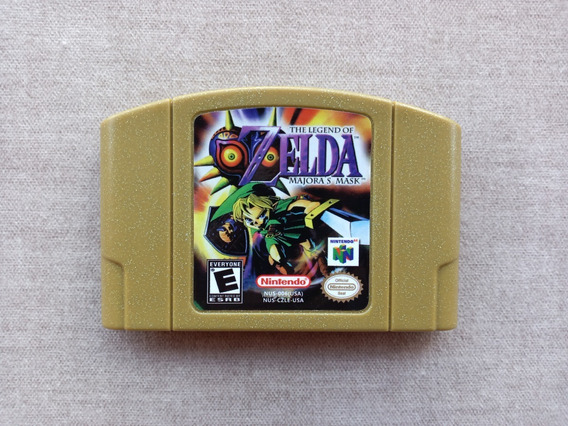 The Legend Of Zelda Majoras Mask Cartucho Nintendo 64 N64