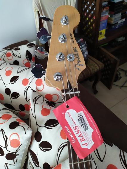 Vendo Cambio Bajo Fender Jazz Blacktop