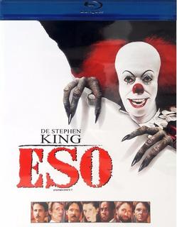 Eso It 1990 Stephen King Las Dos Partes Pelicula Blu-ray