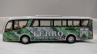 Micro Bus Ferro Carril Oeste 19cm Metalico Coccole Kids