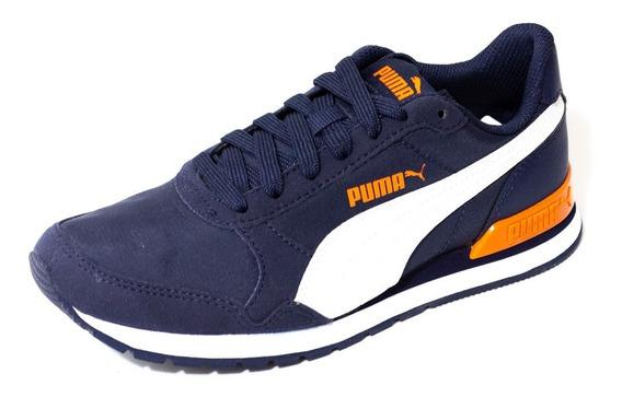 Zapatilla Puma St Runner V2 Nl Junior Azul