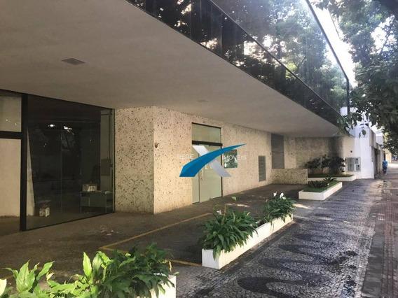 Loja Comercial Para Locação, Lourdes, Belo Horizonte - . - Lo0122