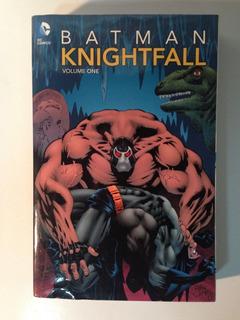 Batman Knightfall Saga Completa En Ingles (3 Tomos)