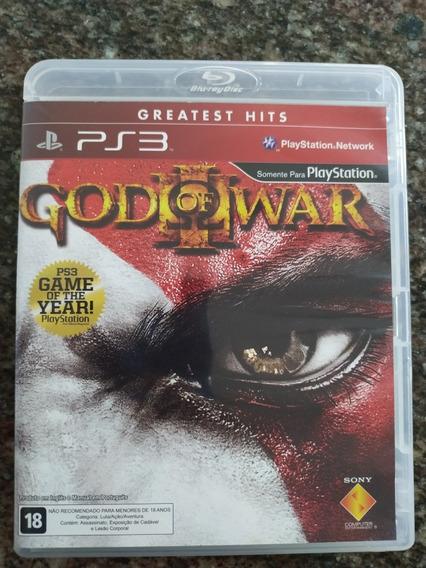 God Of War 3 Ps3 Midia Fisica Em Otimo Estado
