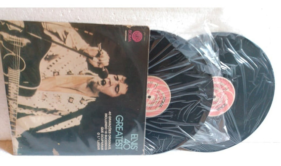 Elvis Presley - Love Me Tender - Suspicious Mind - Lp Duplo