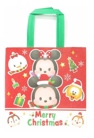 Bolsa Navideña Lavable Disney Tsum Tsum 35x35cm Ideal Dulces