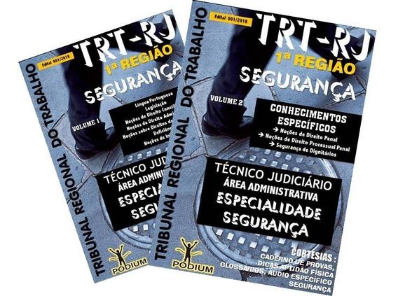 Apostila Trt-rj 1ª Região 2018 Técnico Judiciário Segurança