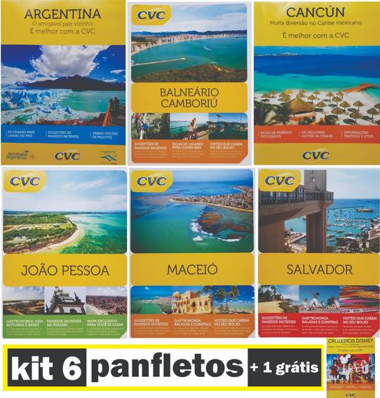 Catalogo Panfleto Cvc Sempre Com Vc Viagem Turismo Passeio