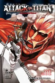 Manga Shingeki No Kyojin Ovni Consultar Por Mas Tomos