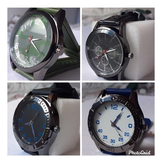 4 Relógios De Pulso Masculinos