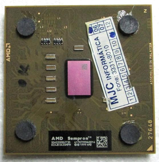 Processador Amd Socket 462 Sempron +2200mhz (2.2ghz)