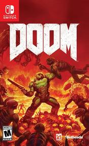 Doom 4 - Nintendo Switch - Lacrado + Frete Grátis!