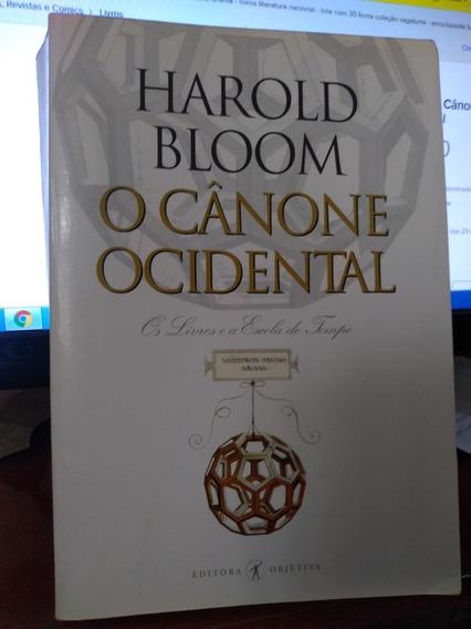 Livro O Cânone Ocidental - Harold Bloom
