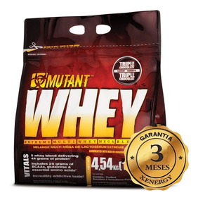 Mutant Whey 6 Libras 62 Sv Proteina Suplemento Fitness Gym