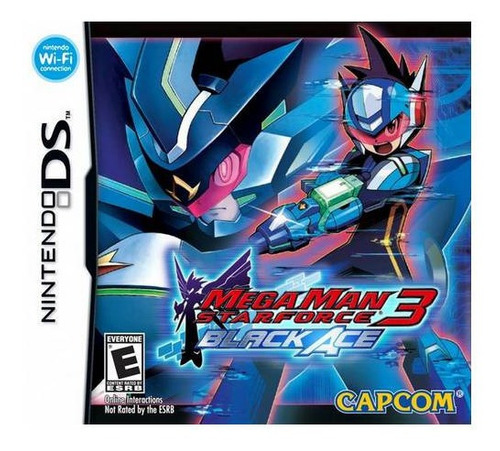 Imagen 1 de 4 de Mega Man Star Force 3 Black Ace Usado Nintendo Ds Vdgmrs