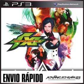 The King Of Fighters Kof 11 Xi - Jogos Ps3 Psn Midia Digital