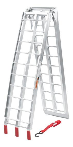 Rampa Plegable Aluminio 2,26mt Carga 340kg Cuatri Repcor