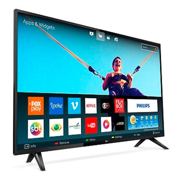 Tv Philips 43 Smart Led Pfg581378 Quad Core Full Hd