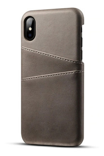 Funda Case iPhone 6 7 8 Plus X, Xs, Xsmax, Xr Piel Colores