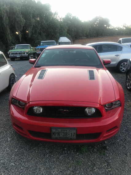 Ford Mustang 5.0l Gt Vip Equipado Piel 6 Vel Mt 2014
