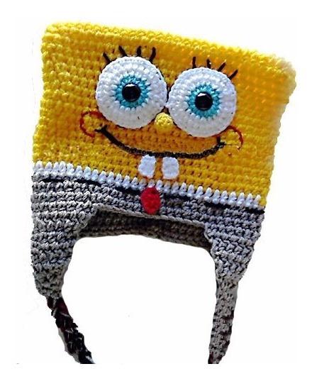 Gorros Bob Tejidos Al Crochet Y Otros Personajes