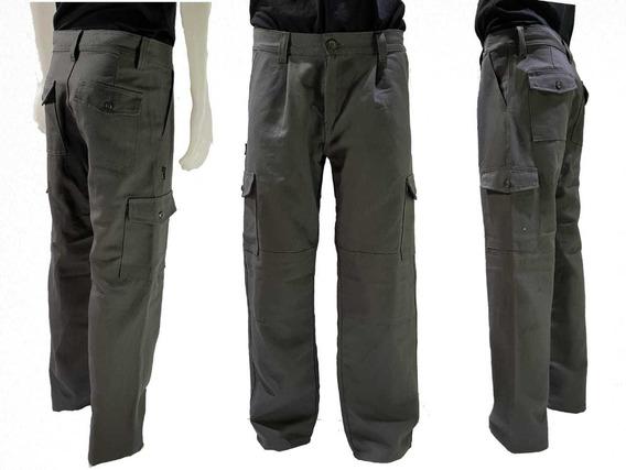 3 Pantalones Cargo Reforz. Colores A Eleccion 40 Al 48