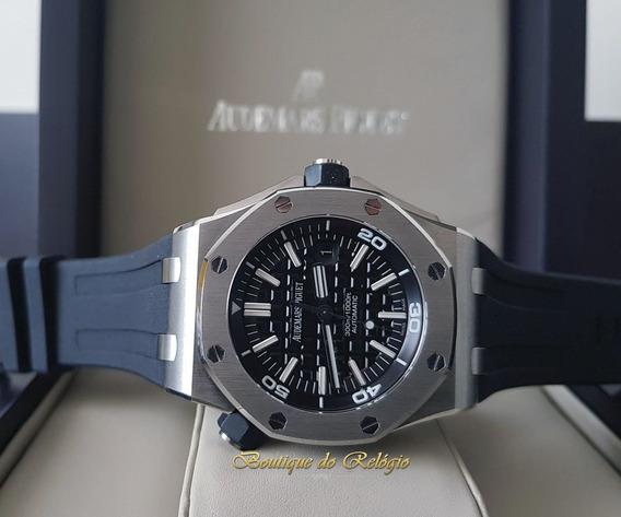 Relógio Eta - Modelo Roo Diver Dial Preto - 42mm
