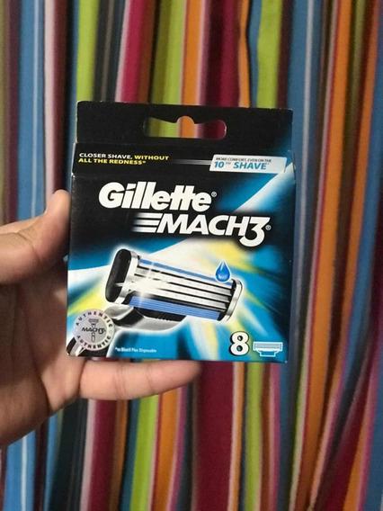 Repuesto Gillette Mach3 Original Usa