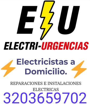 Electricistas A Domicilio,reparaciones E Instalaciones.