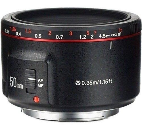 Lente Yongnuo Yn 50mm F1.8 Il P/ Canon