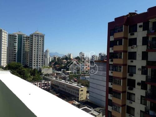 Cobertura À Venda, 196 M² Por R$ 460.000,00 - Icaraí - Niterói/rj - Co0214