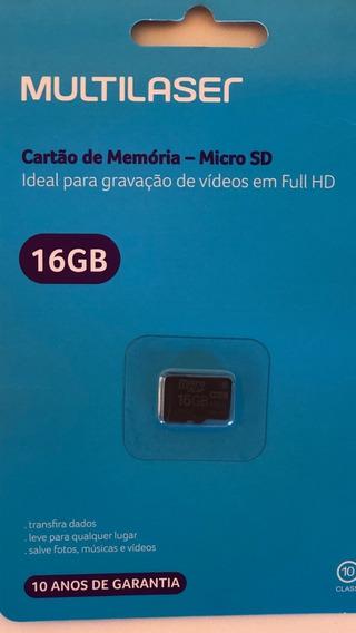 Cartão De Memória Multilaser 16 Gb
