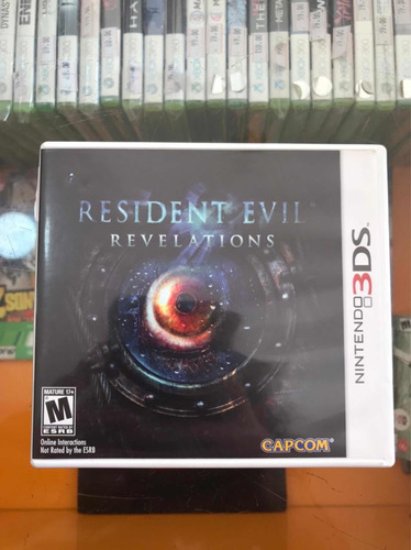 Imagem 1 de 2 de Jogo Resident Evil: Revelations 3ds