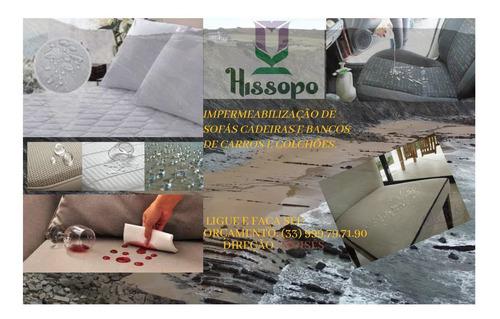 Mk Hissopo Higienização E Impermeabilização
