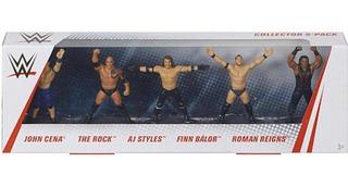 Wwe The Rock, John Cena, Roman Reigns, Finn Bálor 4 Pack 2.5