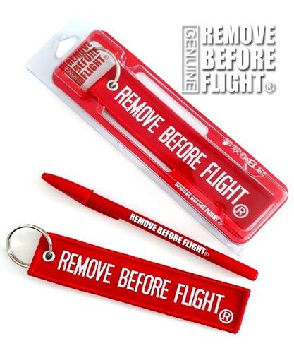 Llavero Clasico Remove Before Flight ® Con Envío
