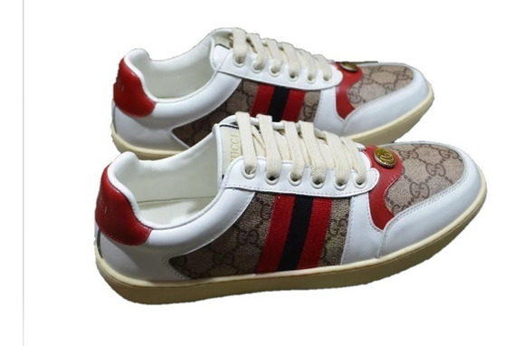 Tenis Gucci Screener Rojo