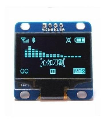 Display Oled 128x64 0.96 I2c Gráfico Endereço Selecionável