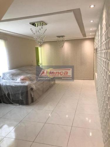 Casa Com 3 Dormitórios À Venda, 10000 M²- Parque Continental - Guarulhos/sp - Ai17442
